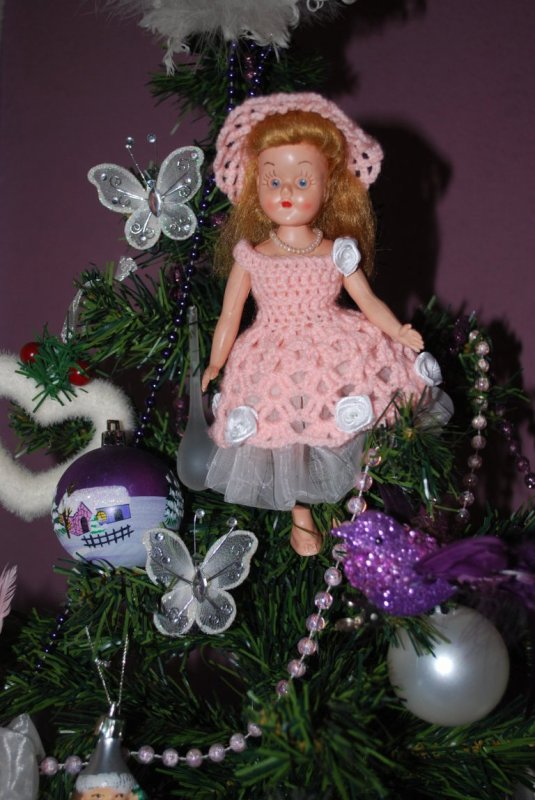 Ma petite fée anglaise, poupée Roddy, star de Noël