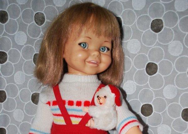 Un joli sourire en ce jour de fête, poupée Giggles