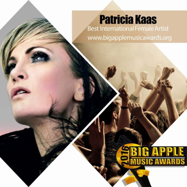 "Patricia Kaas nominated for ""Best International Female Artist"""