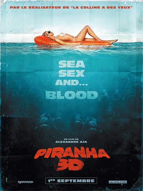 Piranha 3D : au ciné aujourd'hui !