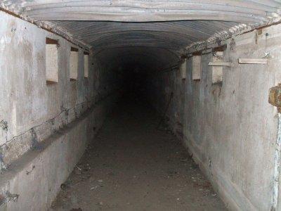 Visite du fort de Illange.