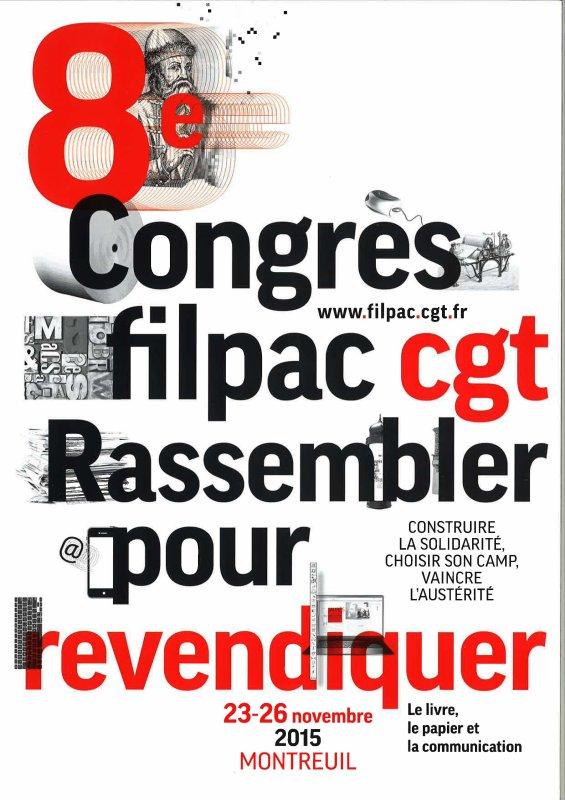 8ème CONGRES DE LA FILPAC CGT