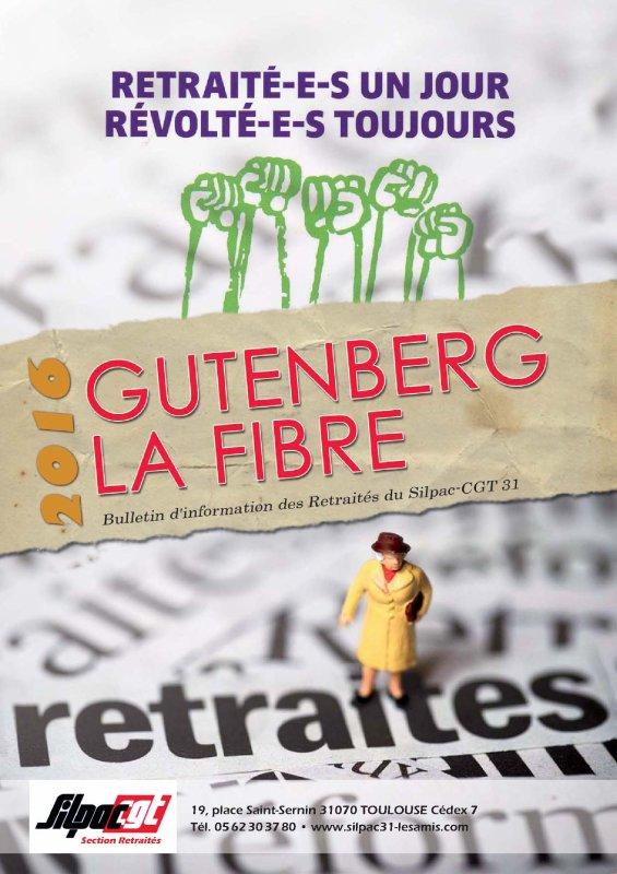 GUTENBERG - LA FIBRE 2016