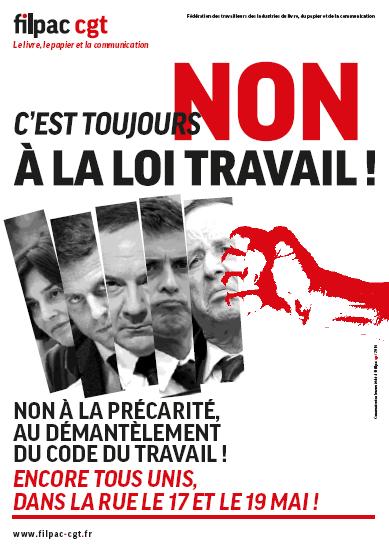 APPEL DE LA FILPAC CGT
