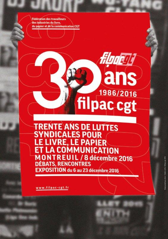 EXPOSITION DES 30 ANS DE LA FILPAC-CGT