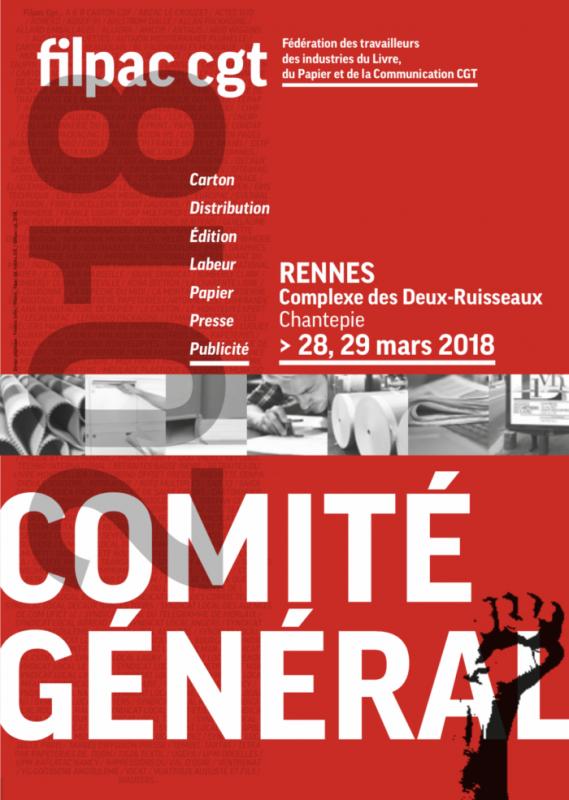 COMITE GENERAL DE LA FILPAC-CGT