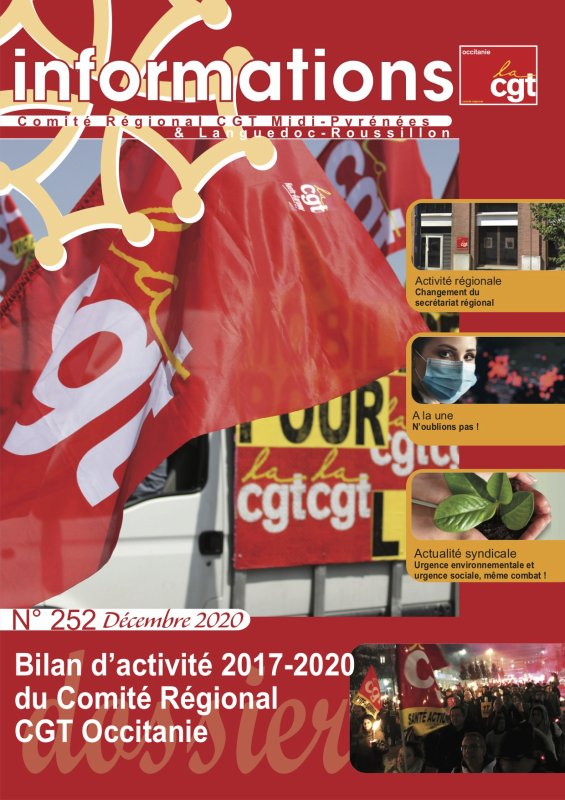 INFORMATIONS N°252 (DECEMBRE 2020)