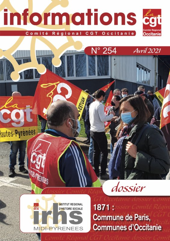 INFORMATIONS N°254 (AVRIL 2021)