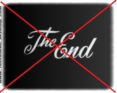 IT'S NOT THE END!!!!