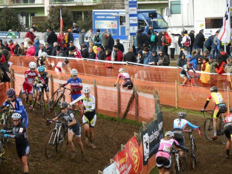 Photos La Mézière Coupe de France cyclo-cross dames 12/11/2017