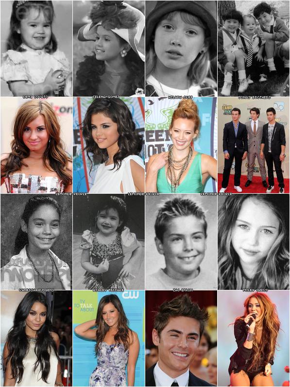Stars Disney avant/après  : ont-ils changés?