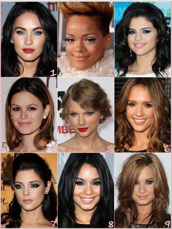 Qu'elle stars à la plus beau make-up?