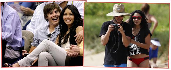 Après 5 ans de love story Vanessa Hudgens et Zac Efron ce sont séparés!  Voici quelques uns de leurs plus beaux clichés..