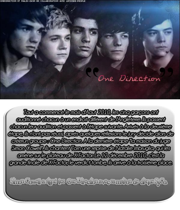 J'aimerais vous faire partager mon coup de coeur du moment : les One Direction  $)