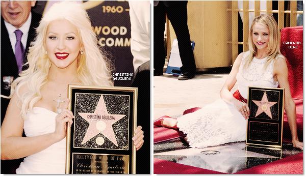 Elles ont gagnées leur étoile à Hollywood