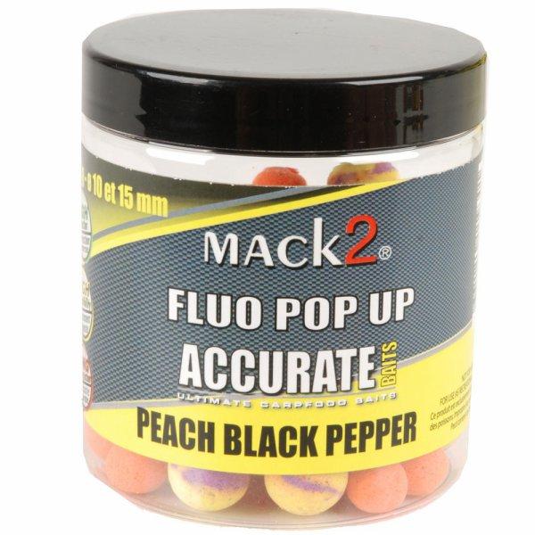 Mack2 peach black pepper boilie