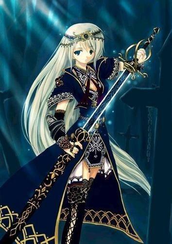 Saphir, la guerrière sans but