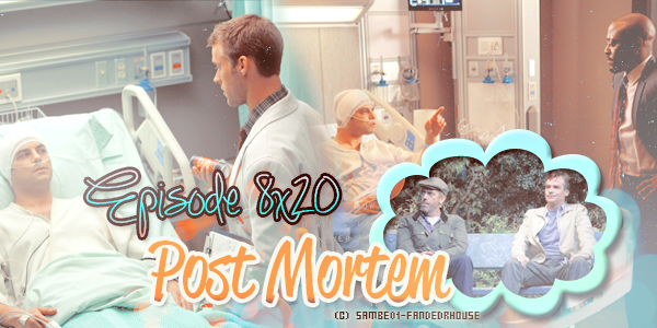 PHOTOS PROMO DE L EPISODE 20 DE LA SAISON 8 : POST MORTEM