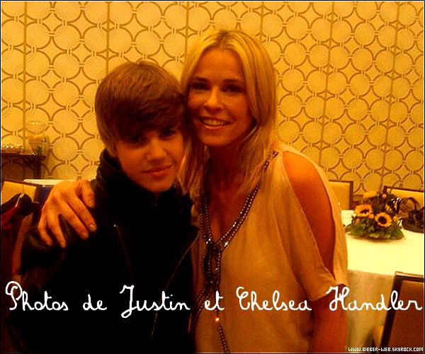 . Justin répétant sa prestation pour les Vidéo Music Award  $) .