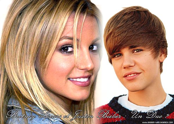 . Britney Spears prépare un duo avec Justin Bieber.   . Alors que côté vie privée, Brit-Brit est accusée de harcèlement sexuel par l'un de ses anciens gardes du corps, elle tente de relancer sa carrière à coup de gros coups marketing. Et c'est avec le protégé d'Usher, Justin Bieber, que Britney Spears a décidé de sortir de l'ombre pour revenir à la chanson.  Un duo déjà très attendu par les fans des deux stars, et que Justin Bieber a confirmé ce week-end lors des MTV music video awards : « Je suis vraiment attiré par l'idée. Nous nous apprêtons à enregistrer. Je l'ai rencontrée il y a trois ans, c'était une superstar et rien n'a changé ». Musique à suivre…   .