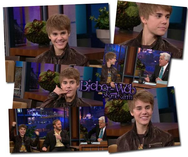 . Justin était Tonight Show, il a parlé de son film, des Grammy, de sa mére etc... .