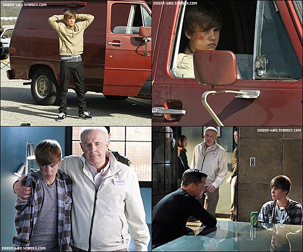 . 31/01/2011  -  Justin arrivant au David Letterman Show ! Top, Bof ou Flop ? .