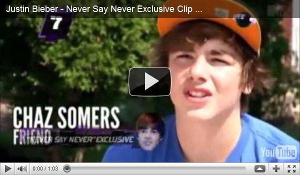 .  Nouvel extrait de Never Say Never ! .