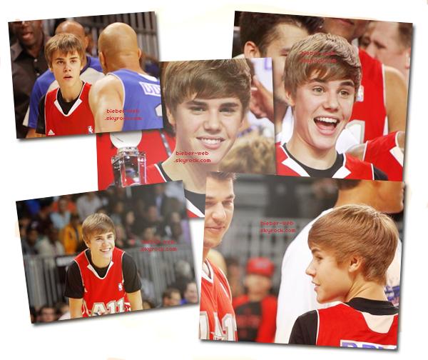 .  19/02/11  - Justin était au NBA All Star, il a joué au basketball avec plusieurs célébrité. 18/02/2011 - Justin a été vus à l'aéroprt de Roissy à Paris !  .