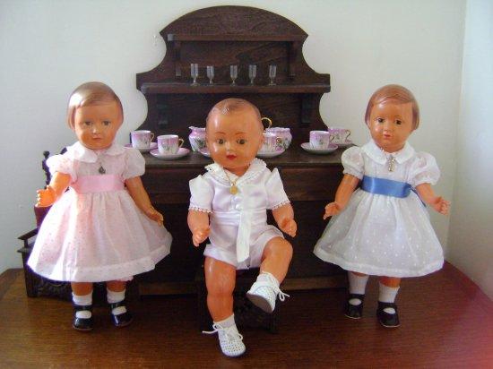 Les petites robes en plumetis.