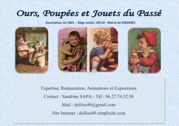 La carte de mon amie Sandrine.