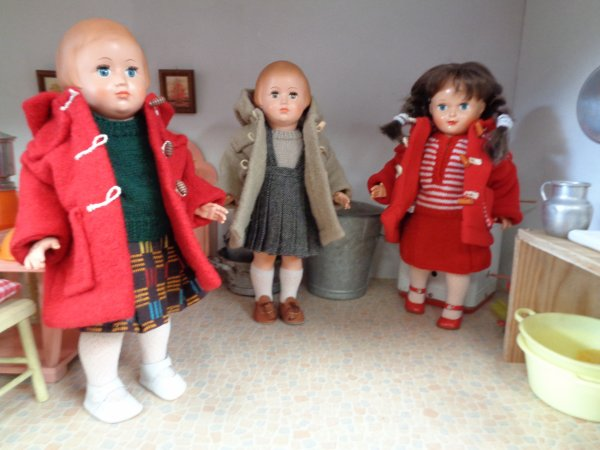 Quelques tenues de Janvier .