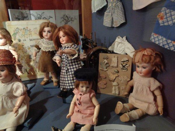 Musée de la poupée a Guérande.