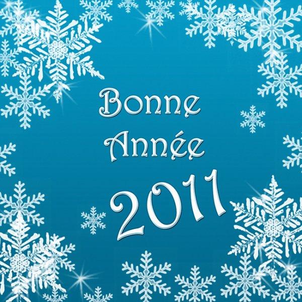 bonne et heureuse année2011(cadeau pour vous mes amis , amies )