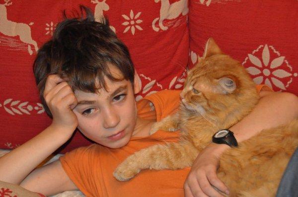 moi et mon chat il y a 3 moi edmi