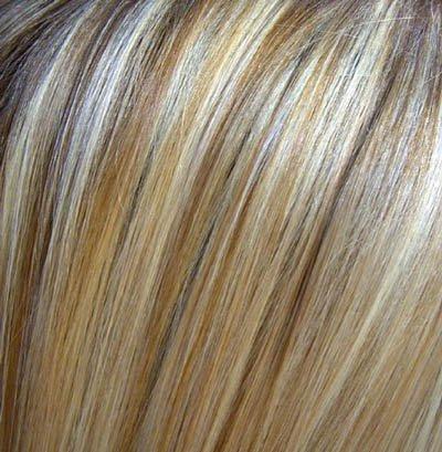 Blonde les meches