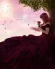 dame en rose