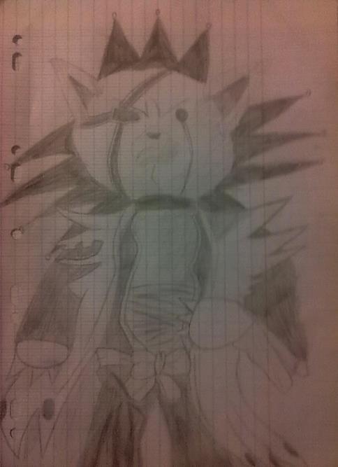 Je suis fan de dessin et voici une de mes creation: