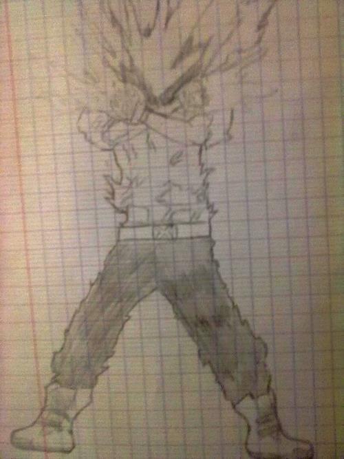 Un autre de mes dessin inspires de hitman