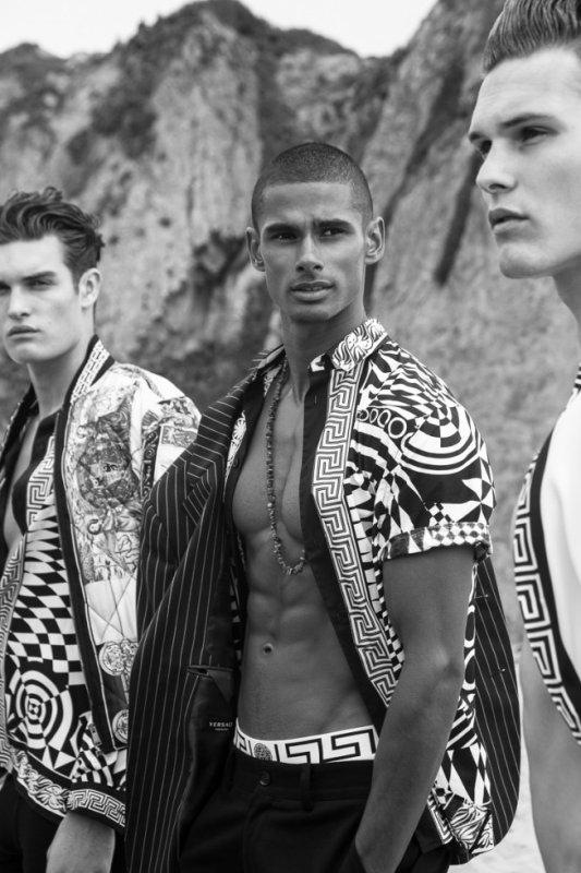 Boys In Versace Victor Magazine