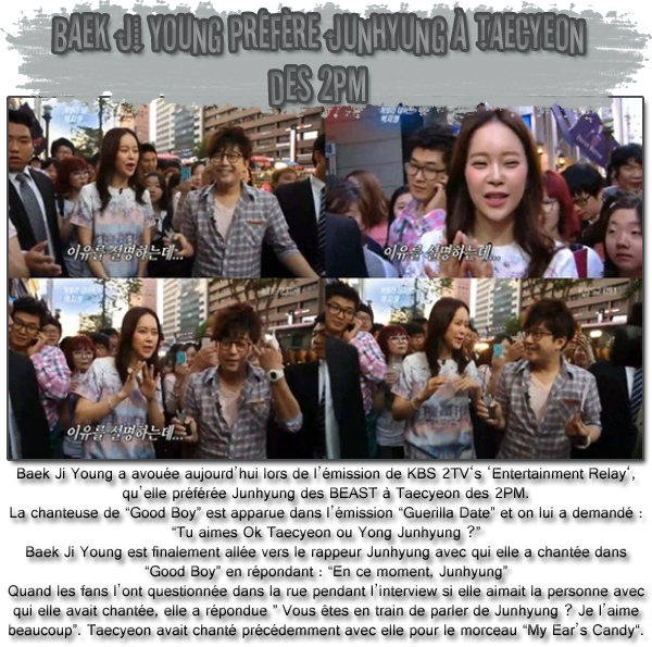 INTERVIEW DES BEAST A BEAUTIFUL SHOW EN THAILANDE