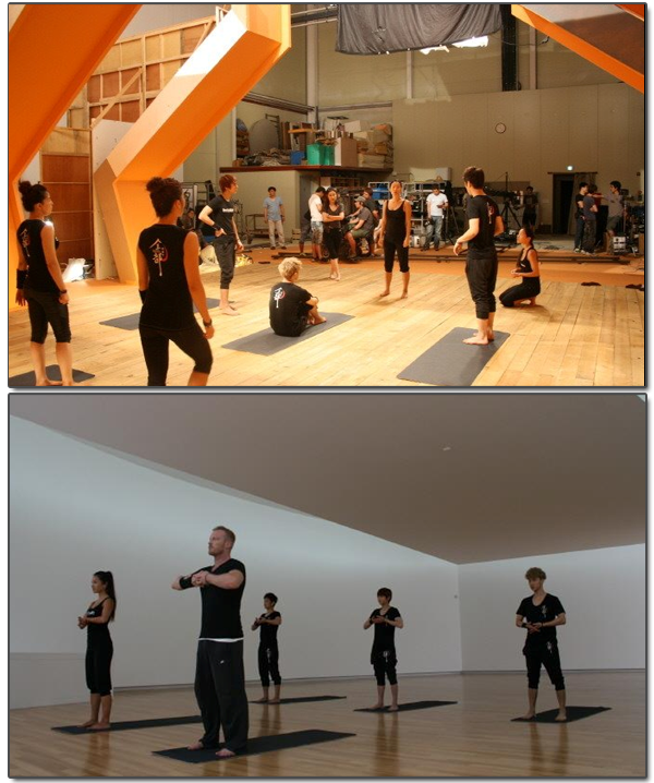 TOURNAGE DU DVD BODY ART