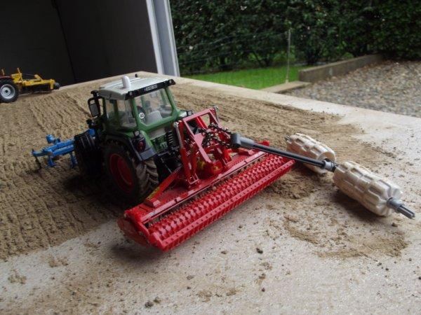 mon diorama des travaux du sol