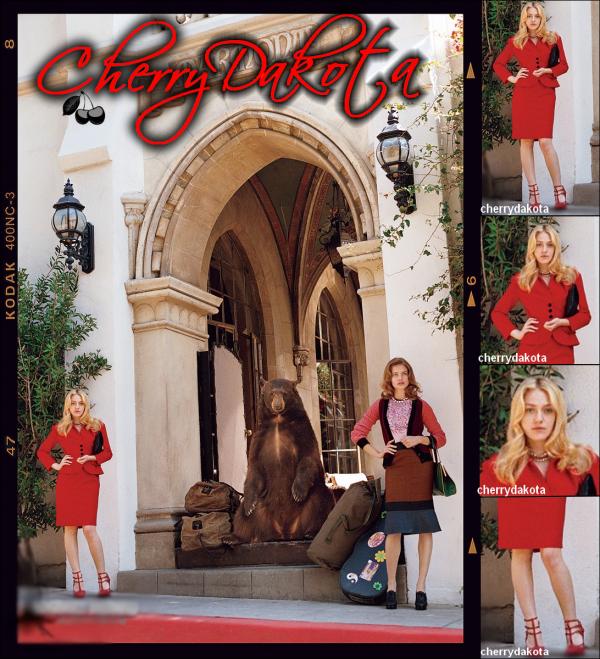 Dakota F. Vogue -  Mai 2o11
