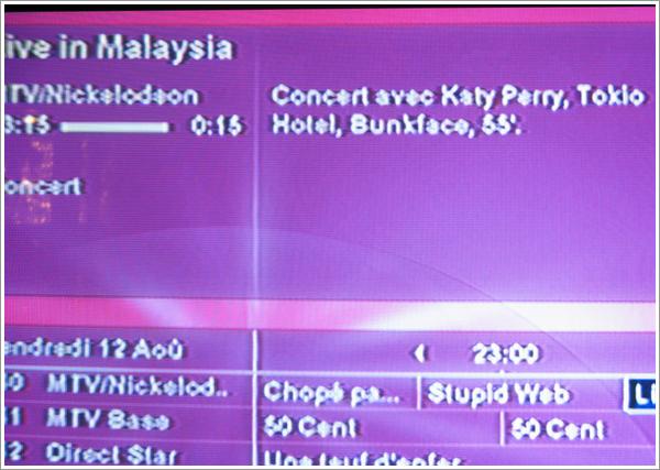 "Concert ""Live in Malaysia"" avec Tokio Hotel ce soir !"