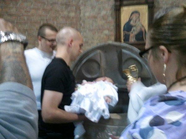 Le baptéme de notre fille Pearl le Samedi 21 Mai