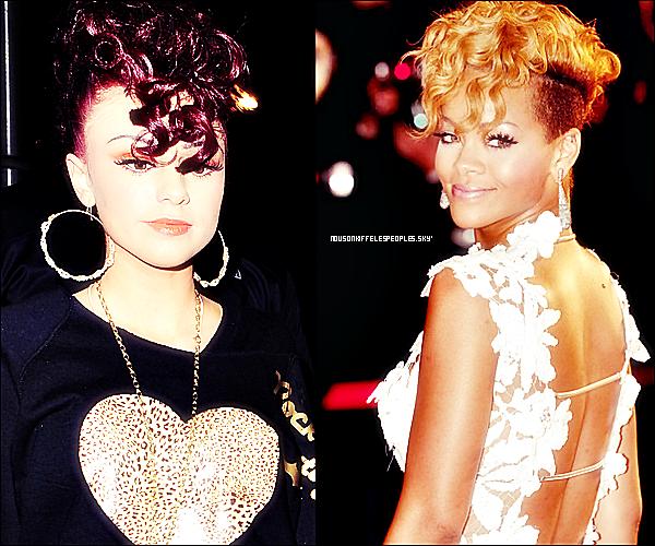 #Non non , Cher Lloyd n'a jamais entendu parler de Rihanna , quel question absurde!. quoi que..#