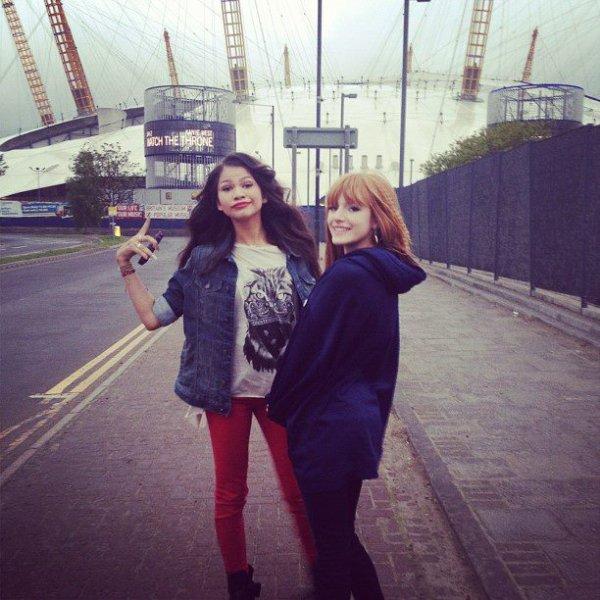 Bella & ZenDaya A Londres ! (1ère Partie)