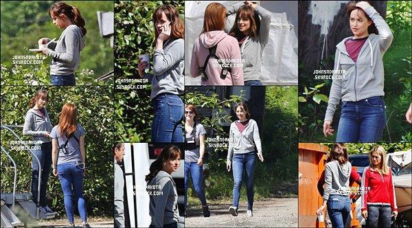 . 30/05/2016 : Dakota et Rita on été photographier sur le set de Fifty Shades à Vancouver (Canada) . .