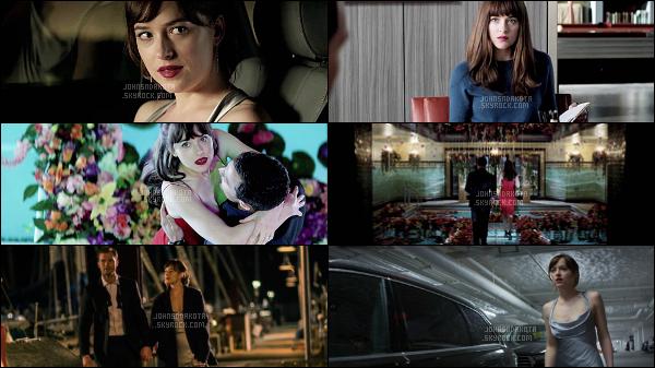 Découvrez de nombreux stills du prochain film de Dakota Johnson : Fifty Shades Darker