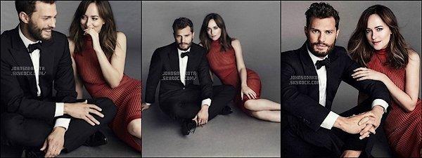 Dakota et Jamie Dornan pour un shoot du célébre magazine français «  Paris Match » !